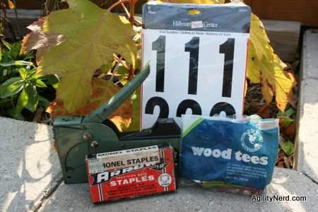 Yard Numbering Supplies