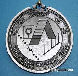 USDAA DAM Team Silver Medal